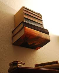L Bracket Bookshelf How To Make An Invisible Bookshelf Without Ruining A Book 9