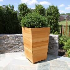 teak planters planters u0026 planter boxes country casual