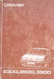 workshop manuals rover sd1 australia