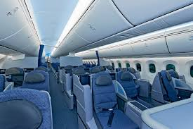 Boeing 787 Dreamliner Interior Boeing U0027s State Of The Art 787 Dreamliner Is Now Officially In