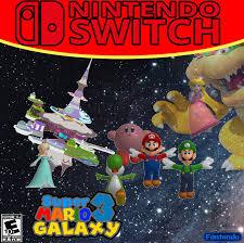 super mario galaxy 3 nintendo switch fantendo nintendo