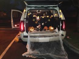 decor trunk or treat ideas for decorating and ideas for halloween