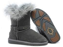ugg sale on black friday ugg boots black friday sale fox fur buckled 5558 grey for