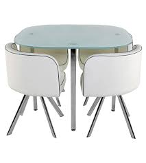 table 4 chaises melo blanc tables but