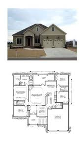 Floor Plan Of 4 Bedroom House French Country House Plan 2532 Sq Ft 3 Bedrooms And 2 5
