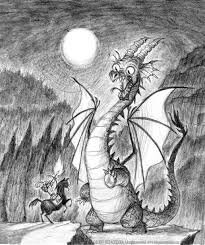 dragon drawing by imaginism on deviantart