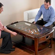 Funny Coffee Tables - dining and coffee tables with built in games u2013 practical furniture