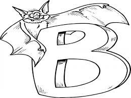 letter b coloring pages coloringsuite com