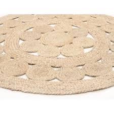 Rugs Round by Natural Daisy Jute Rug Round Jute Seagrass Sisal Rugs Free