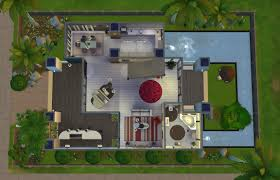 Awesome House Blueprints Home Design Modern House Plans Sims 4 Interior Designers