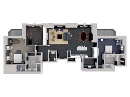 chicago apartment floor plans 3d floor plans rooms u0026 suites waldorf astoria chicago