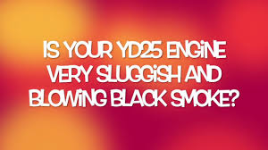 nissan pathfinder white smoke yd25 black smoke and lack of power youtube