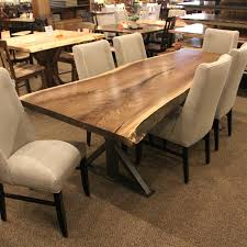 How To Clean Dining Room Chairs Contemporary Live Edge Dining Room Table How To Clean Live Edge