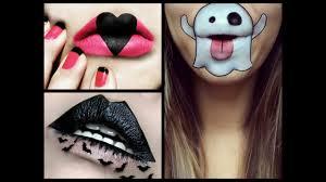 Halloween Lip Makeup Best Lips Halloween Makeup Ideas Youtube