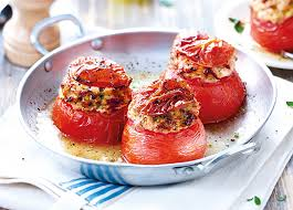 tomates cuisin s 4 tomates farcies surgelé gamme plats cuisinés sur thiriet