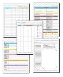 Complete Budget Worksheet Budget Planner To Insanity U0026 Back