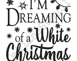 i m dreaming of a winter christmas stencili m dreaming of a white