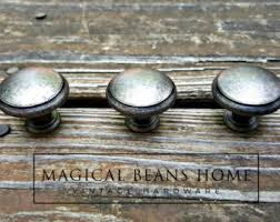 Rustic Cabinet Hardware Wrought Iron Pulls Fixer Upper Style Cabinet Knobs Drawer