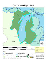 Map Of Michigan Lakes by Gis Map Gallery