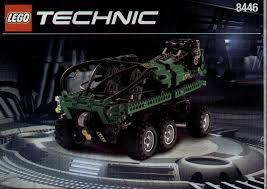 lego monster crane truck instructions 8446 technic