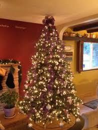 stunning christmas tree decorating ideas purple christmas tree