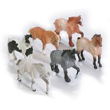 minnie whinnies breyer animal creations mini whinnies 6 draft horses toys