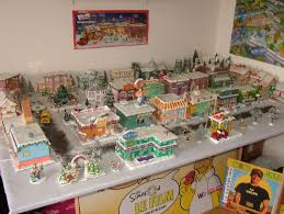 simpsons villages happy holidays