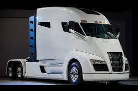 luxury semi trucks nikola one hydrogen fuel cell class 8 truck revealed in salt lake city