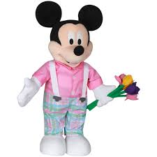 easter mickey mouse disney large plush mickey mouse easter porch greeter 23