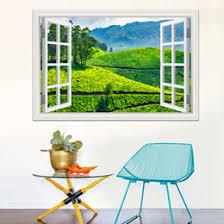 discount green garden wall stickers 2017 green garden wall