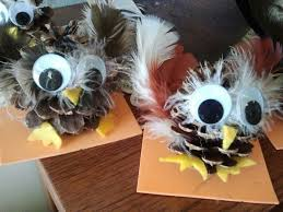 16 best owls images on pinecone owls pine cone crafts