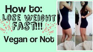 vegan diet lose weight fast effective weight loss plan