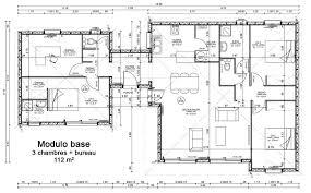 plan de maison 5 chambres plain pied modele de plan maison modernes 1 scarr co