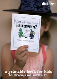 Kids Halloween Printables by Halloween Kids Printable Book The Idea Room