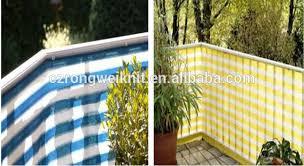 hdpe balcony windscreen net view balcony net rongwei product