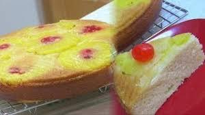 eggless pineapple upside down cake recipe sanjeev kapoor
