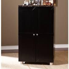 Indoor Bar Cabinet Latitude Run Oldsmar Bar Cabinet With Wine Storage Wine Storage