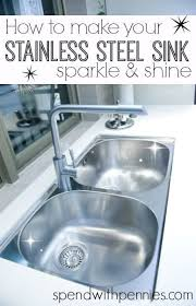 how to keep stainless steel sink shiny how to make your stainless steel sink sparkle shine spend with