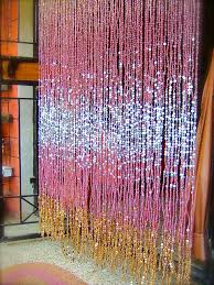 Beaded Curtains With Pictures Antique Ombre Pink Silver Gold Beaded Curtain U0027ready Made