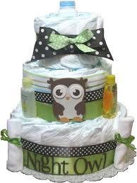 owl diaper cake owl baby cake owls diaper cakes owl baby shower