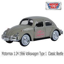 volkswagen type 1 motormax 1 24 1966 volkswagen type 1 classic beetle motormax 1