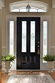 door design painting exterior doors with sidelights painted