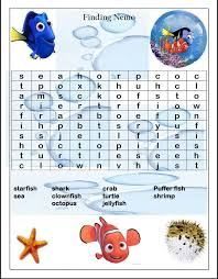 213 finding nemo printables images finding