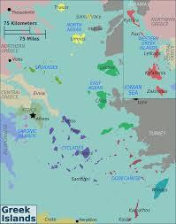 Greece Maps by Greek Islands Regions Map U2022 Mapsof Net