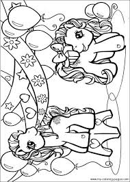 pony color pages funycoloring