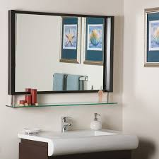 contemporary bathroom mirrors amazon com decor wonderland new amsterdam framed wall mirror home