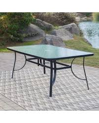 Glass Top Patio Dining Table Find The Best Christmas Savings On Outdoor Coral Coast Wimberley