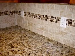 Kitchen Backsplash Travertine Exquisite Kitchen Backsplash Design Featuring White Cream Brown