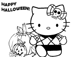 cute halloween coloring pages getcoloringpages