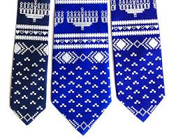 hanukkah tie items similar to hanukkah sweater necktie men s chanukah tie